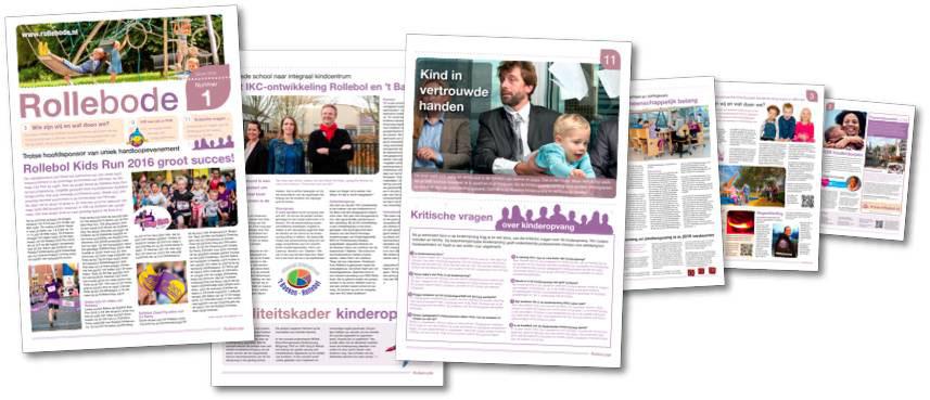 Rollebode kinderopvang-krant